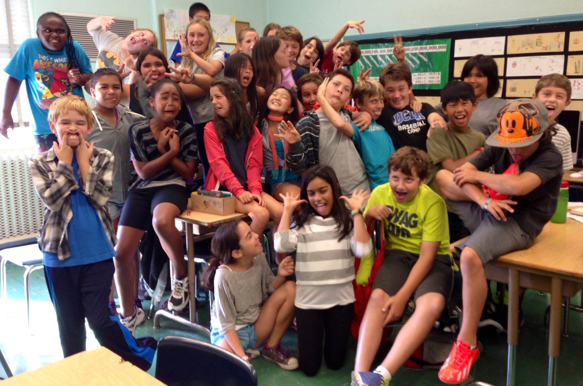Rm.4's 2013-2014 Fifth Graders!