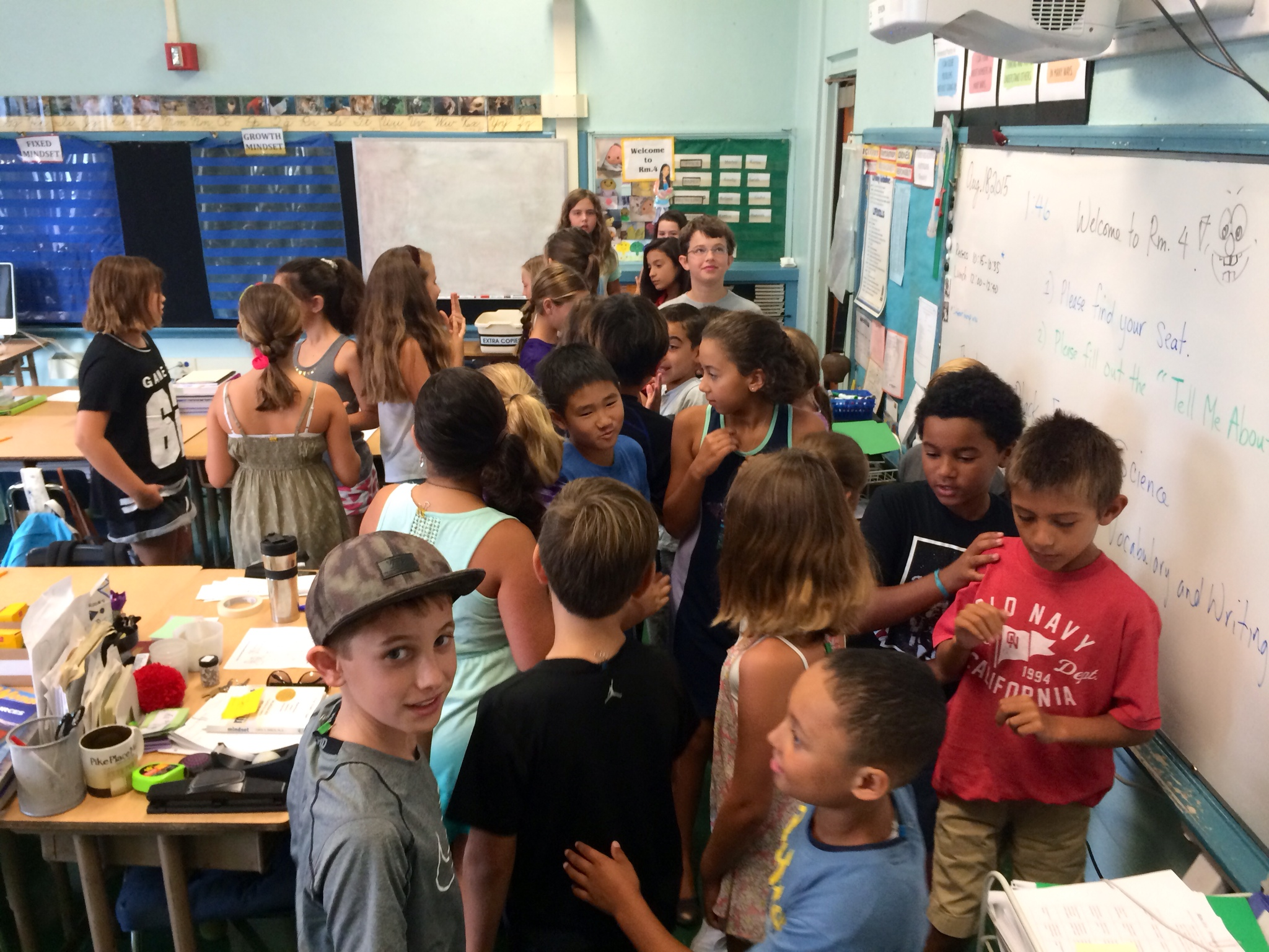 First Day of School: A Collaborative Community Begins! :)