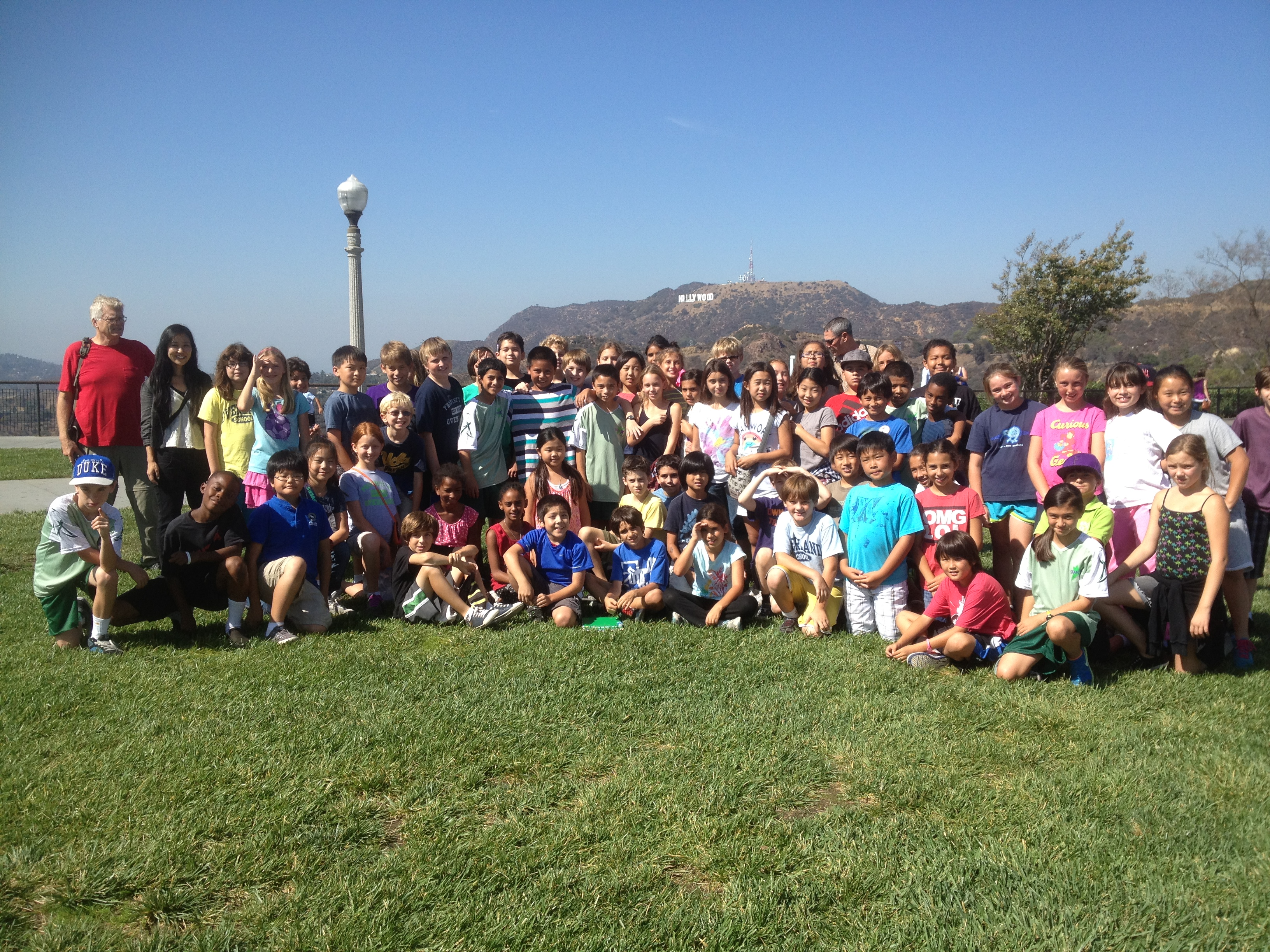 Griffith Observatory Field Trip!