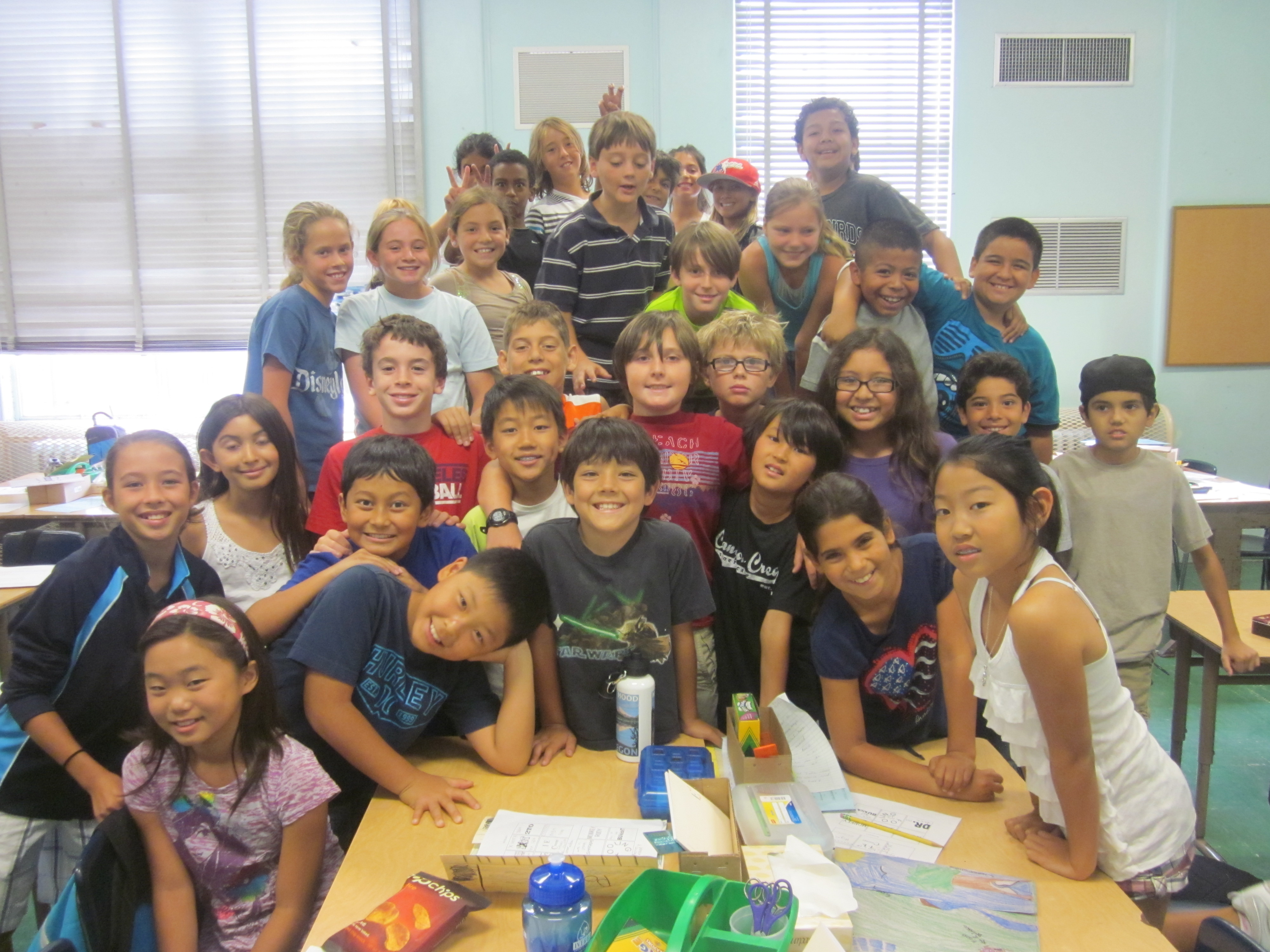 Rm.4's 2012-2013 Fifth Graders! Yay!  :D