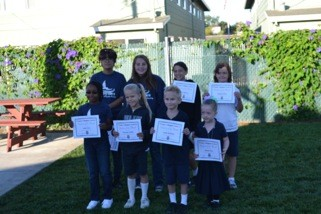 Students of the Month September 2014
