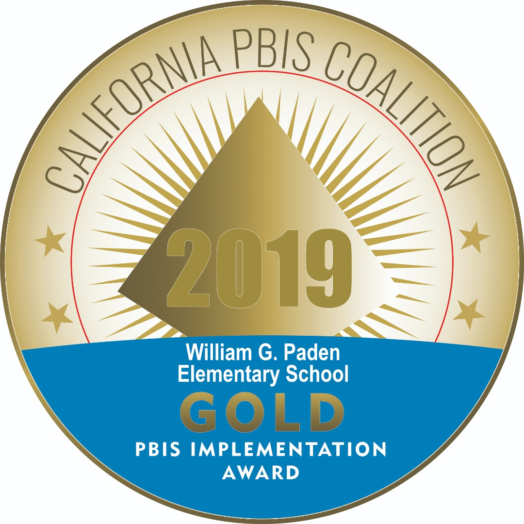 2019 Gold California PBIS Coalition