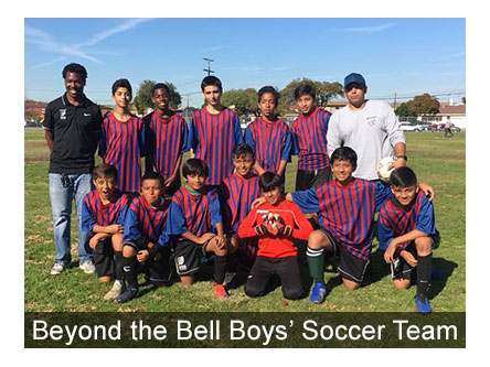 Fall Boys' Soccer Team