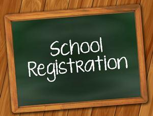 school registration photo