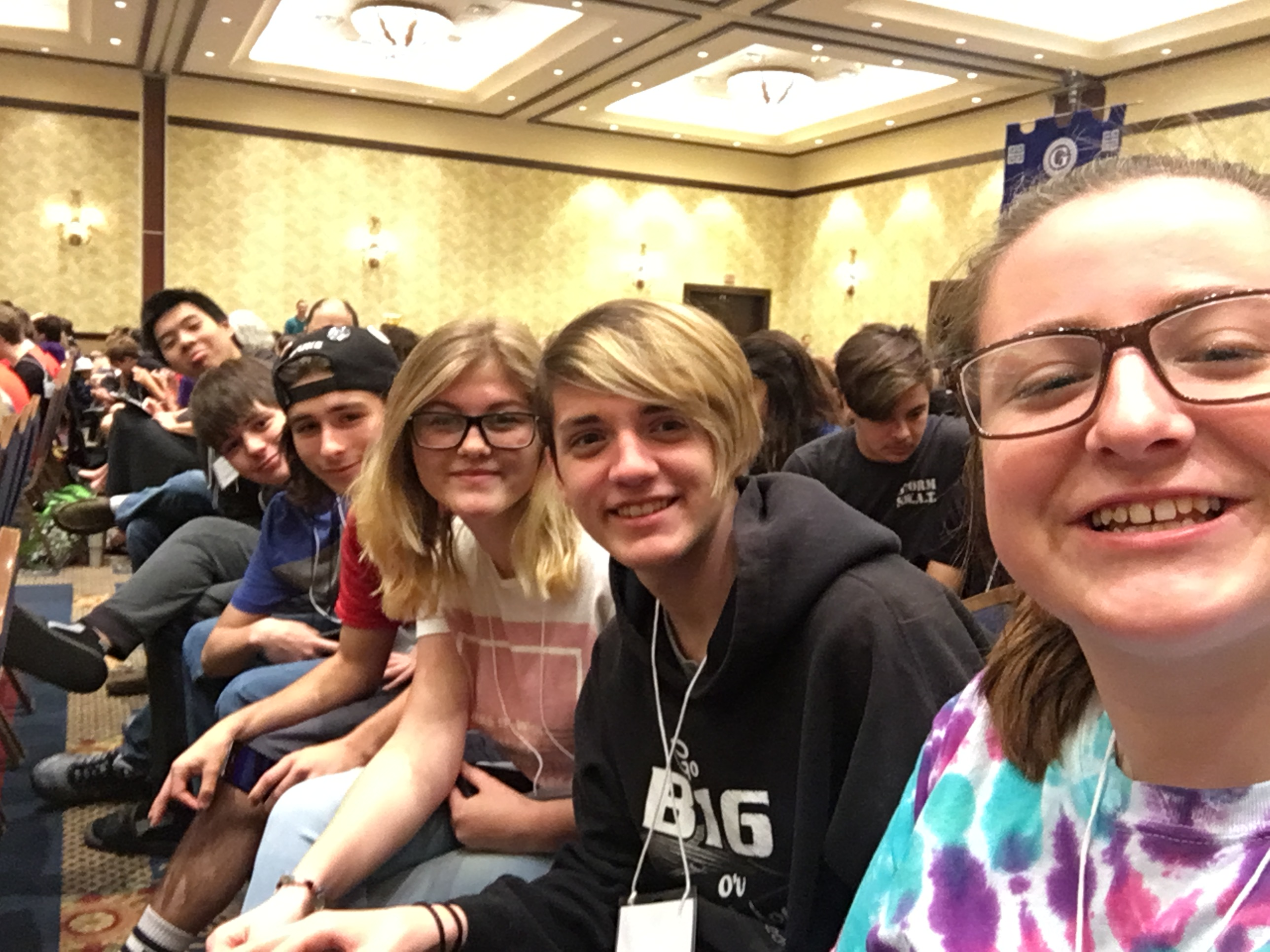 Morning Assembly during State Competition