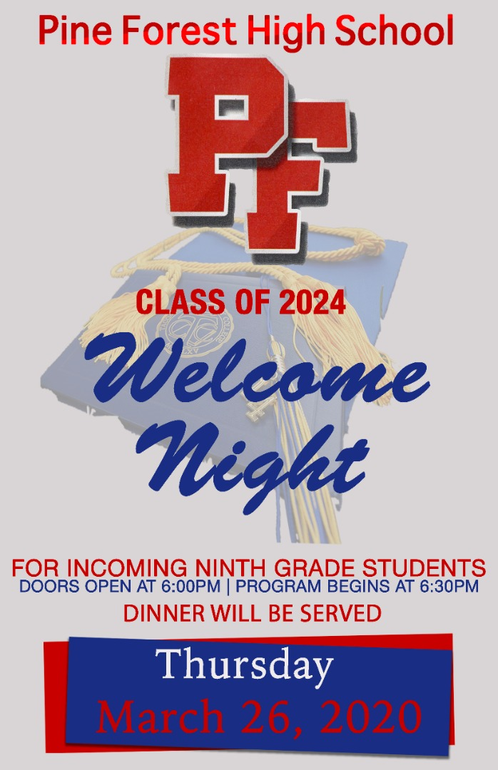 Welcome Night Flyer