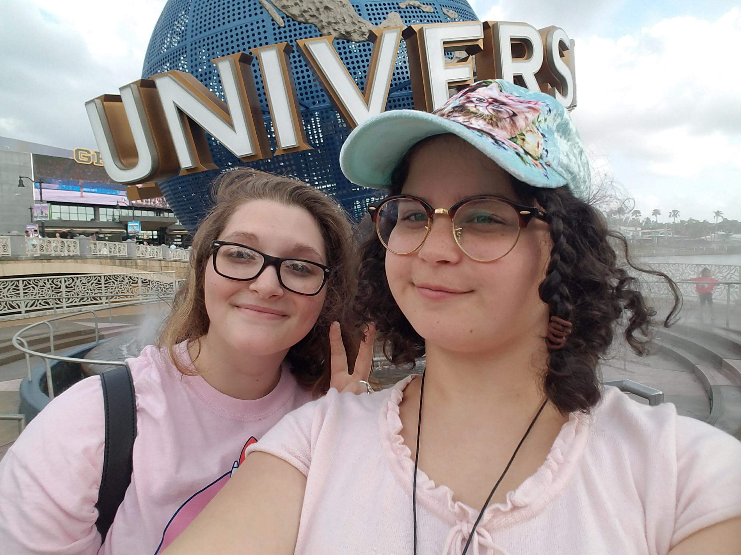 Latin State Trip Theme Park Day (Naccole and Haley)