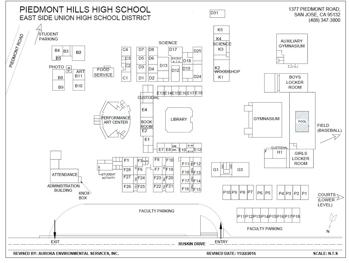 phhs school site map