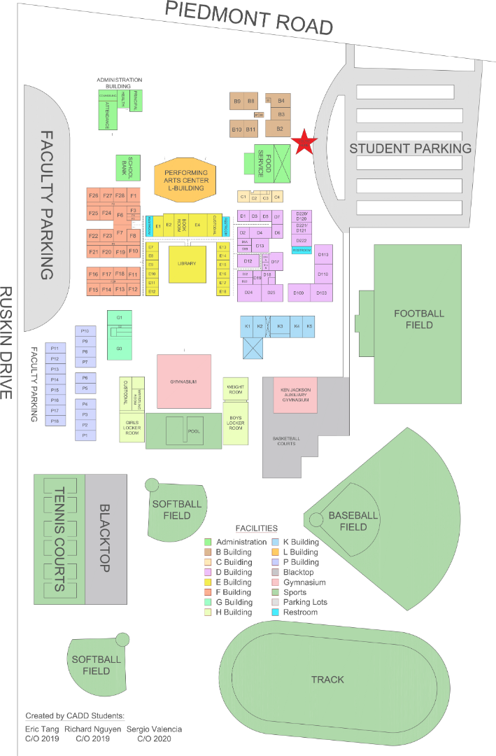 PHHS Site Map