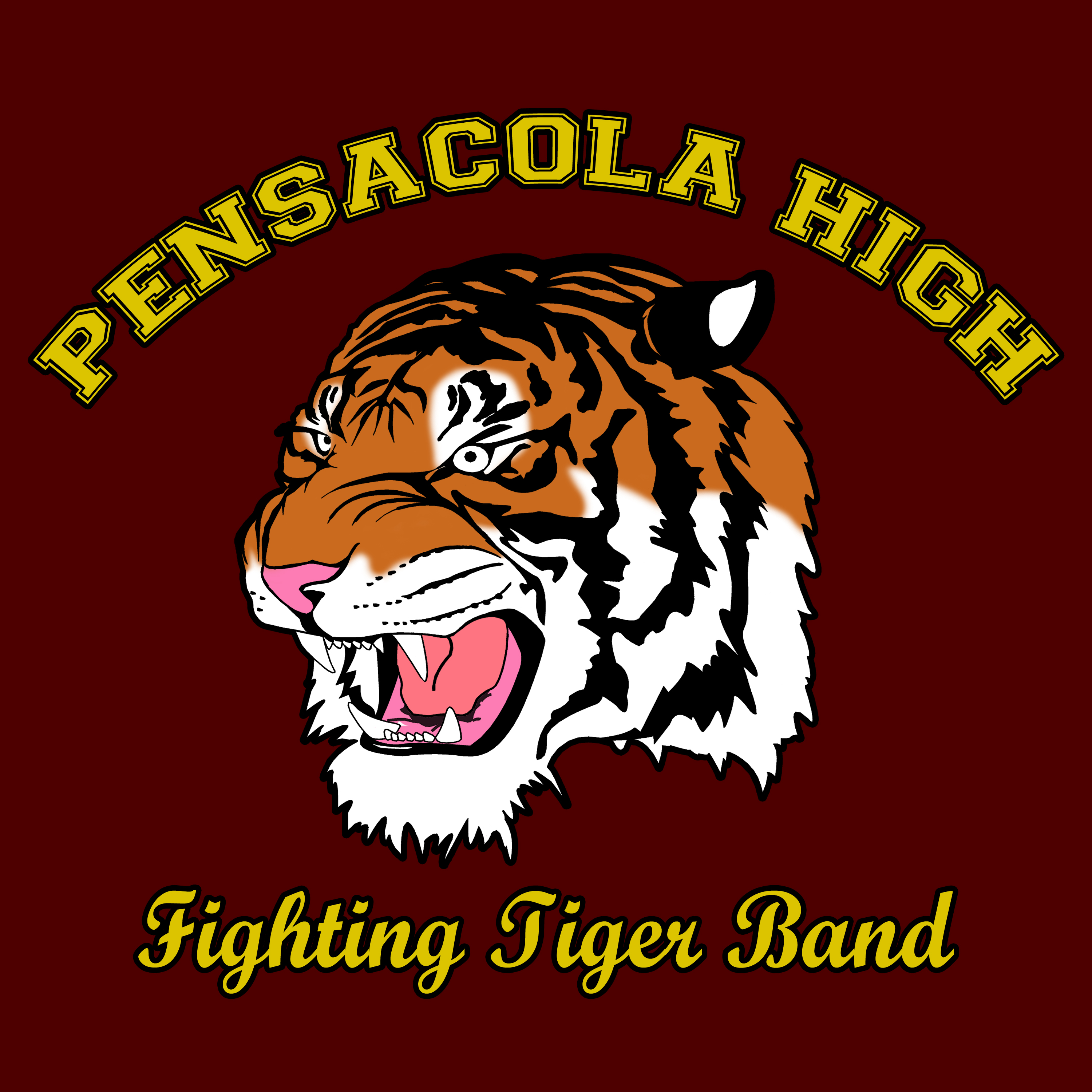 Pensacola Fighting Tiger Marching Band