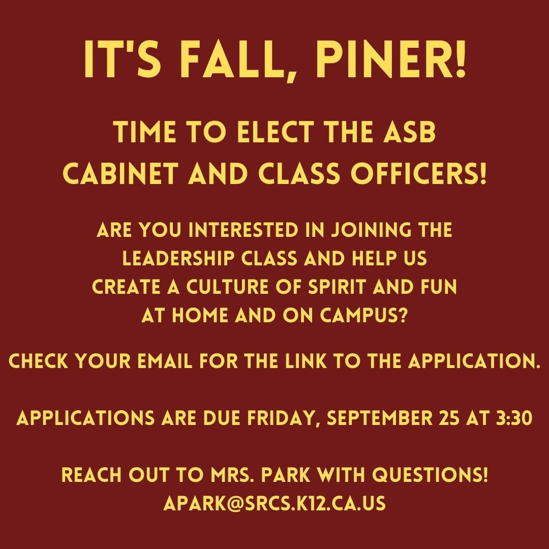 ASB Class officers Flyer