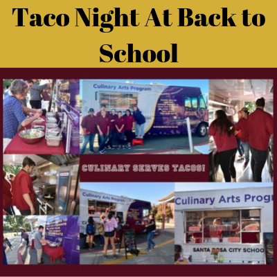 Taco Night at Back to School