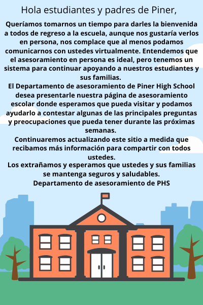 Counseling Flyer Spanish