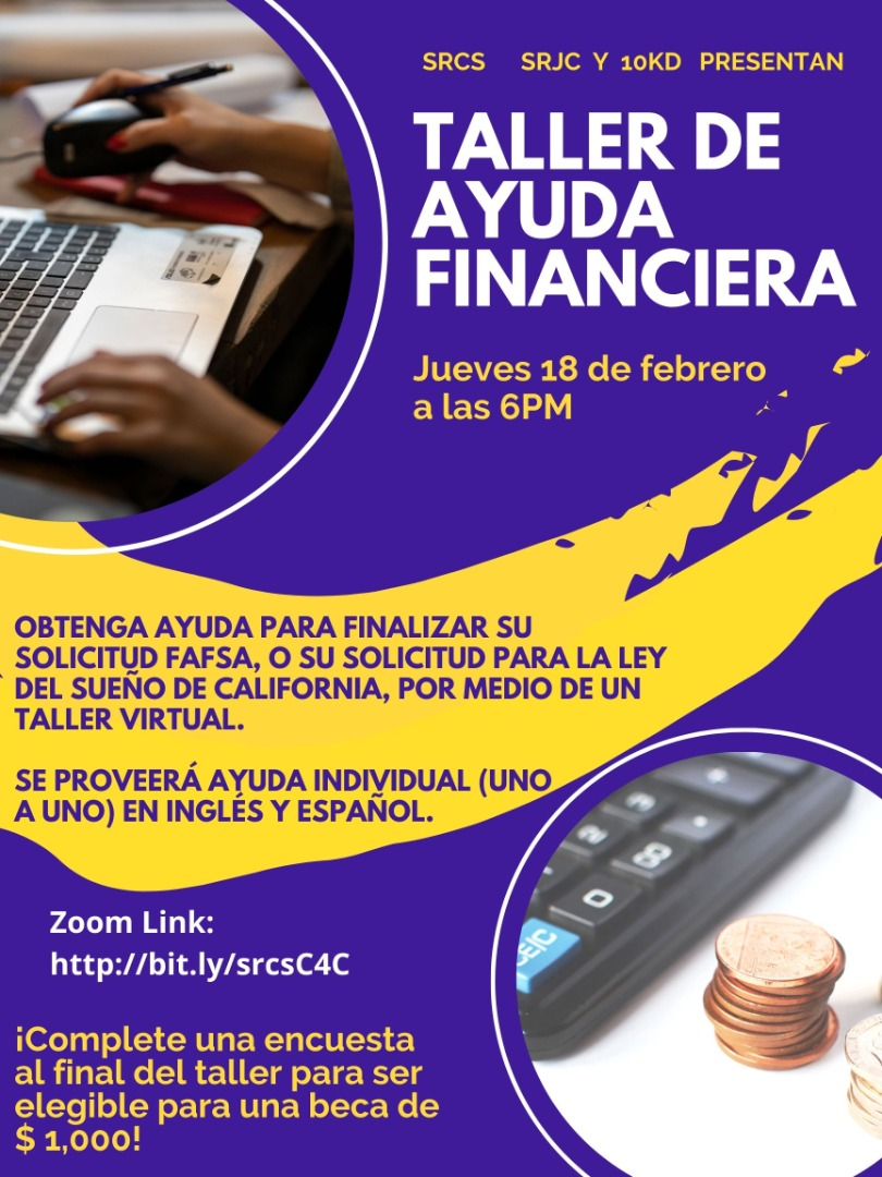 Financial Aid Flyer Spanish