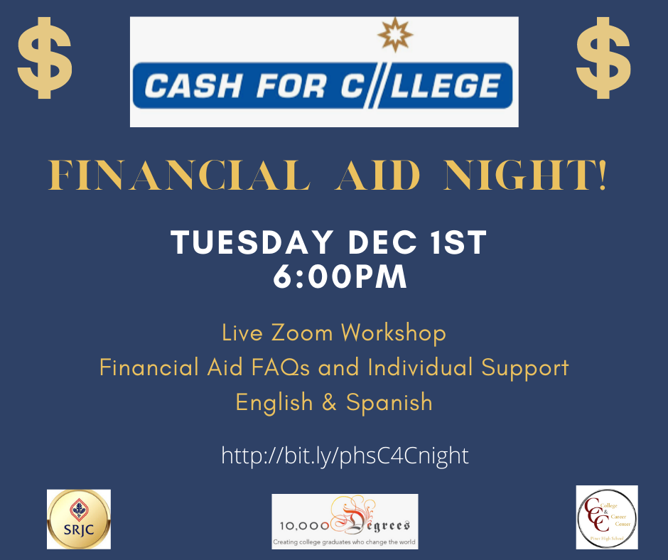 Cash For College Flyer