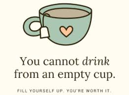 You cannot Drink From an Empty Cup - Image of Cup