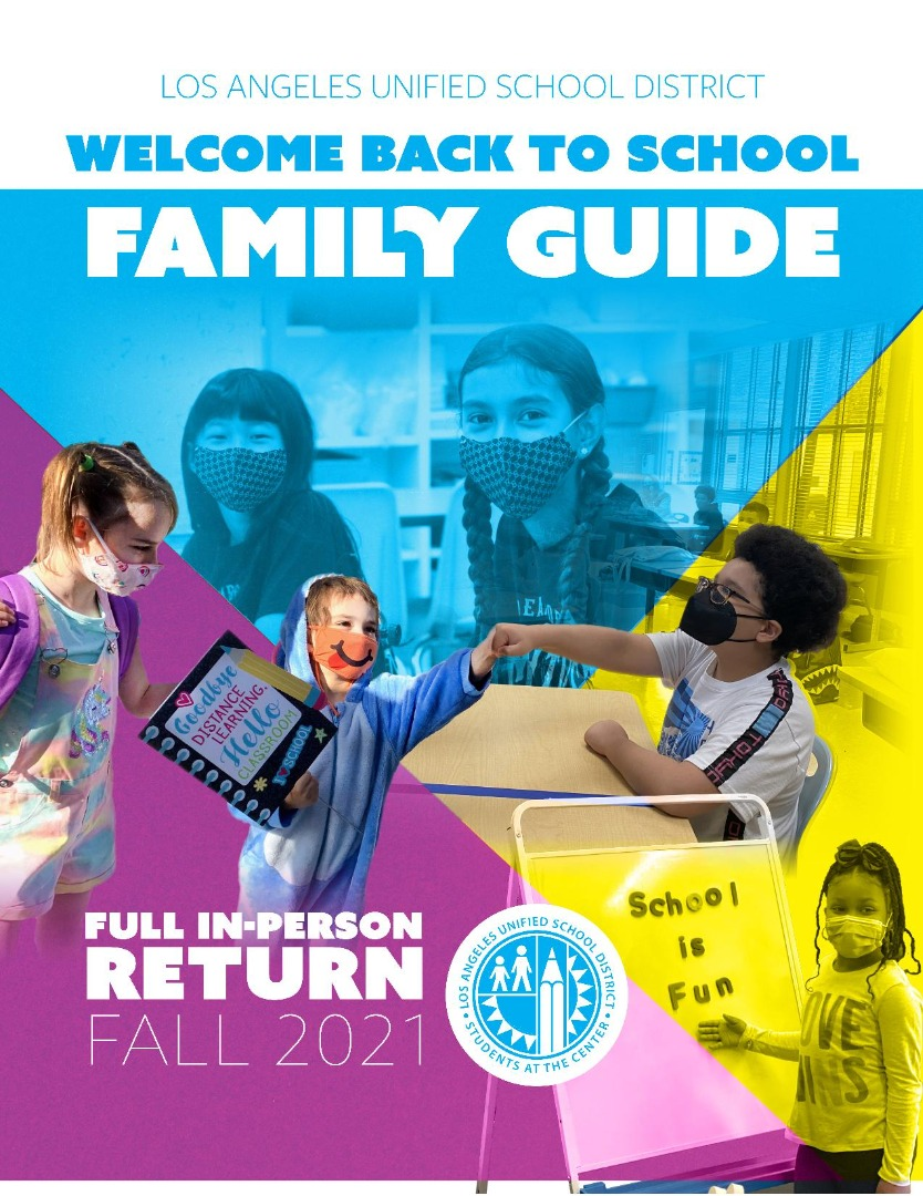 welcome back to school family guide