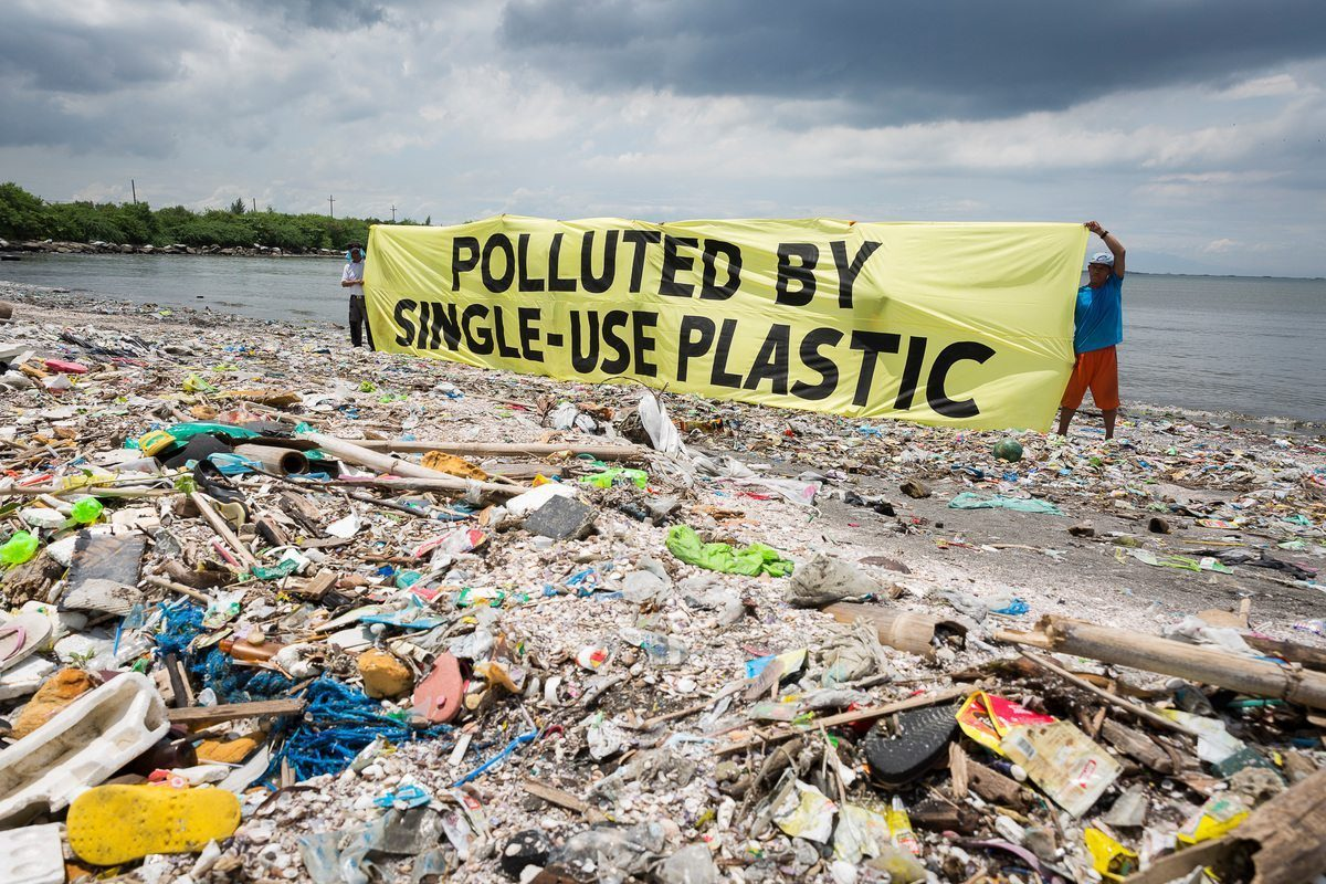 Polluted by Single-Use Plastic photo