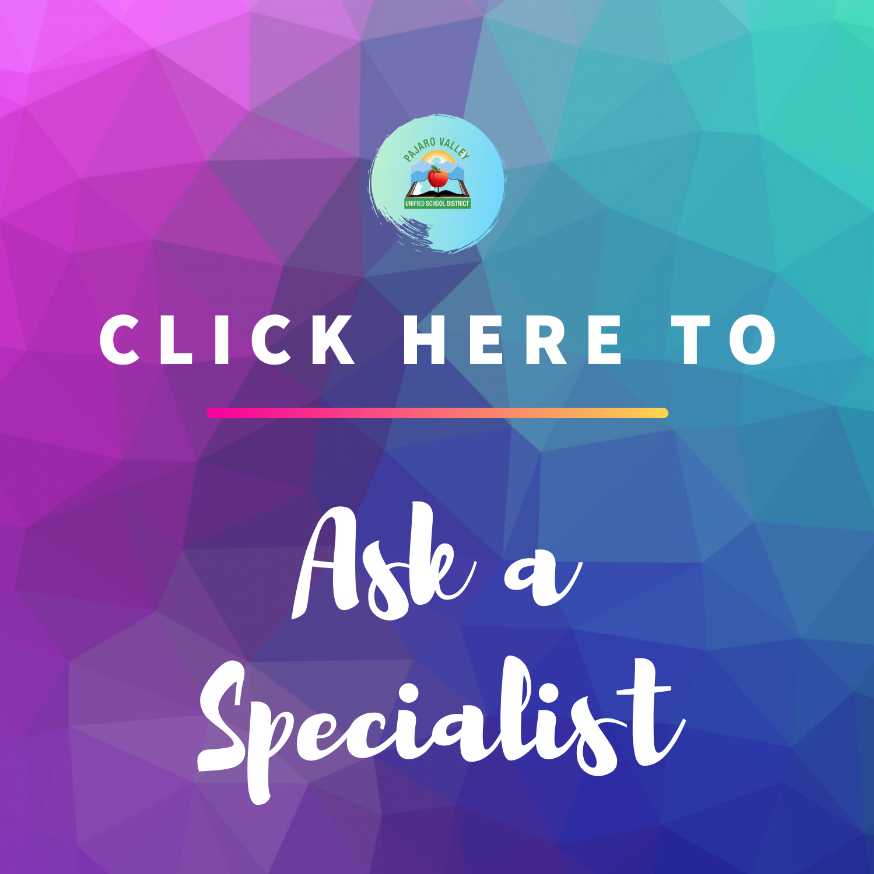ask a specialist link