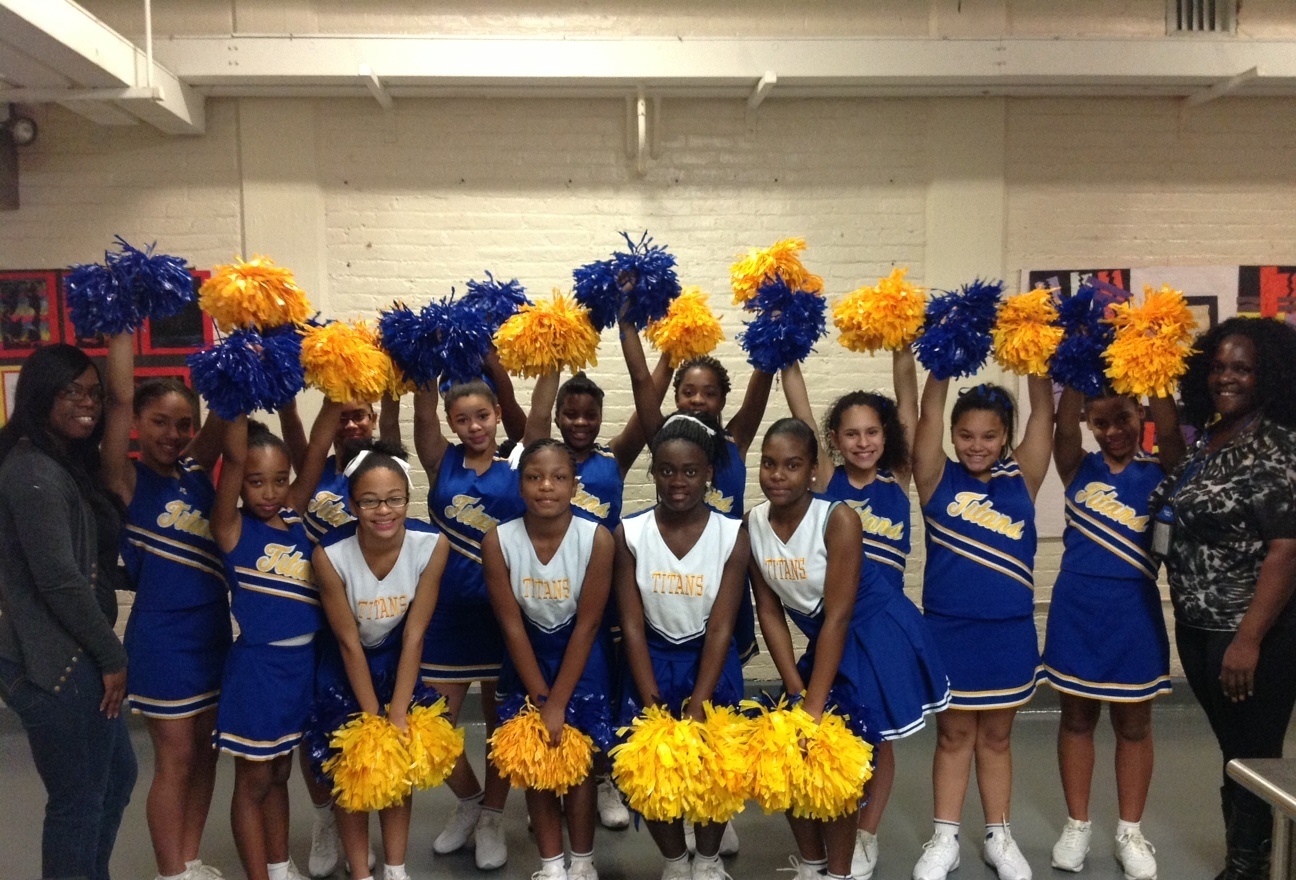 School #10 Cheerleaders