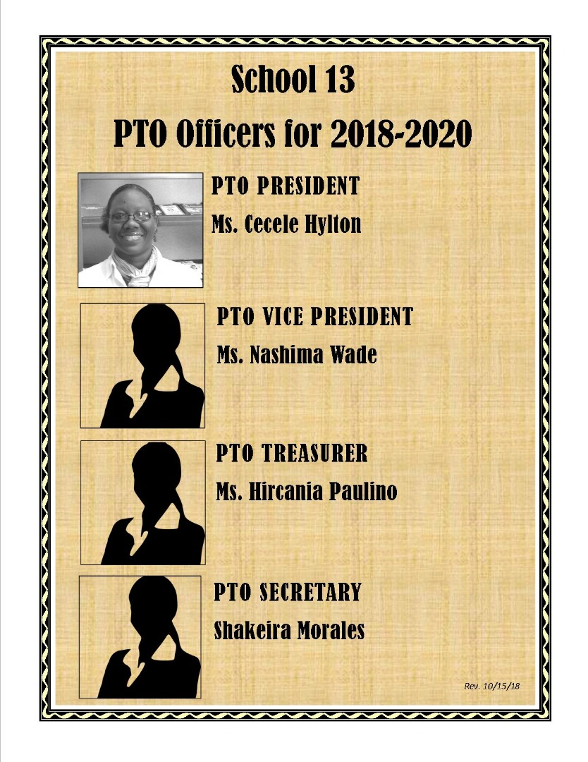 PTO OFFICERS AT 13