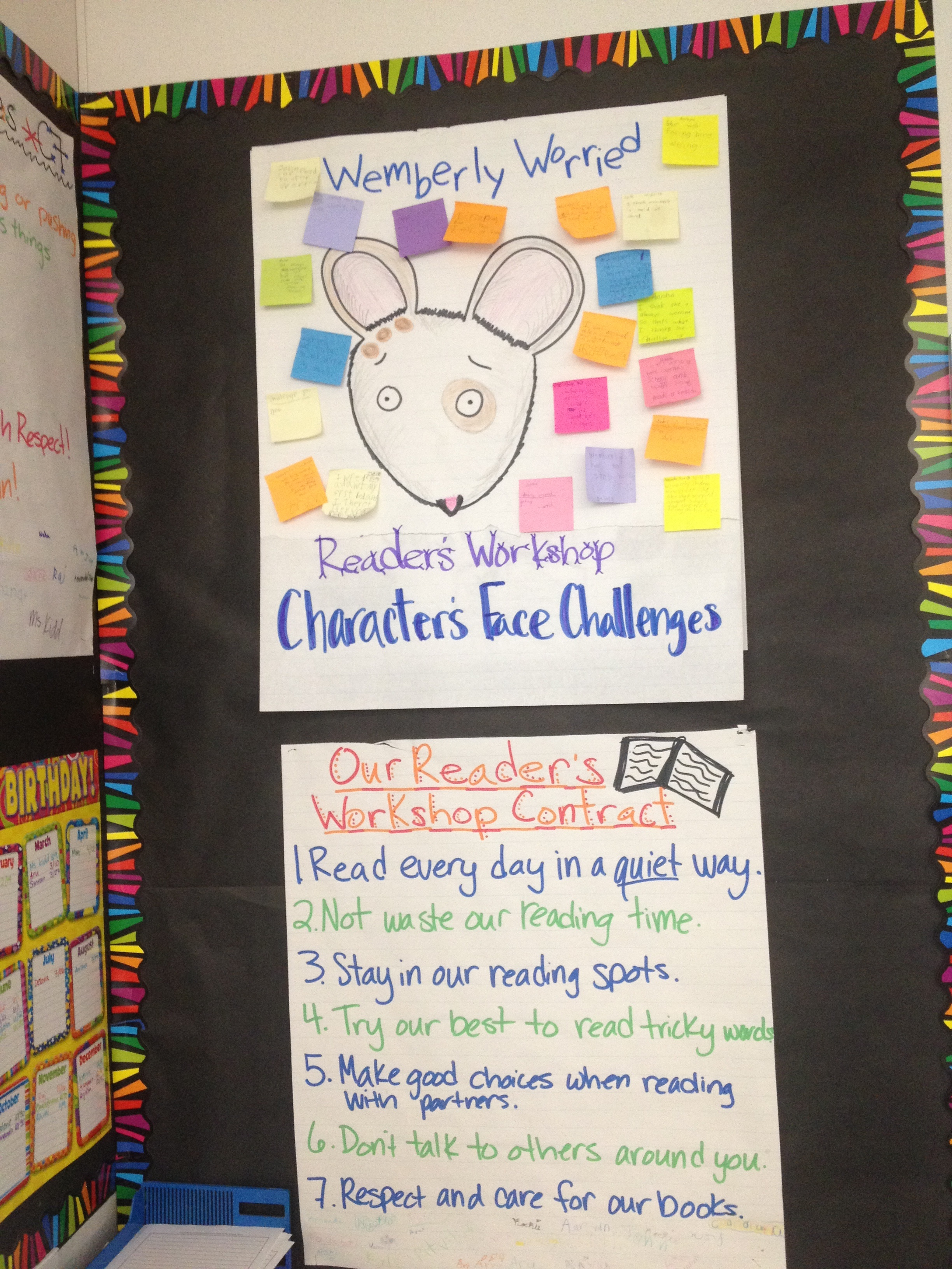 Characters Face Challenges