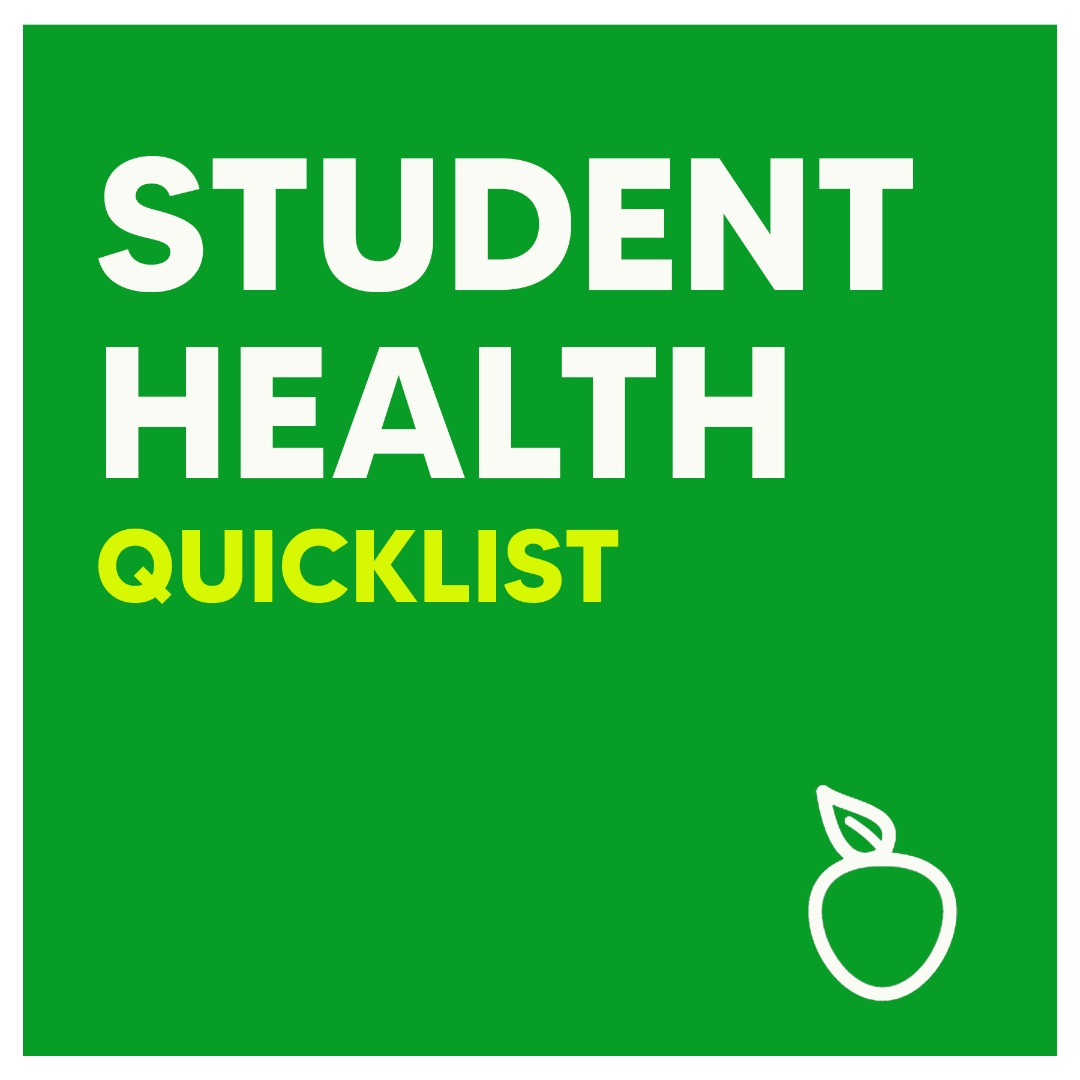 Student Health Quiclist