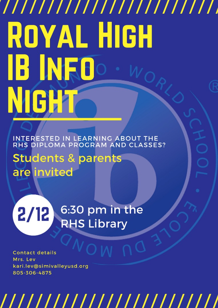 IB Information Night