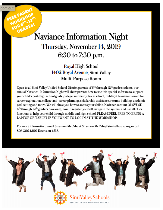 Naviance Night Flier English