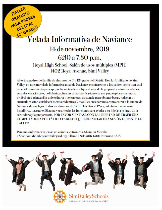 Naviance Night Flier Spanish