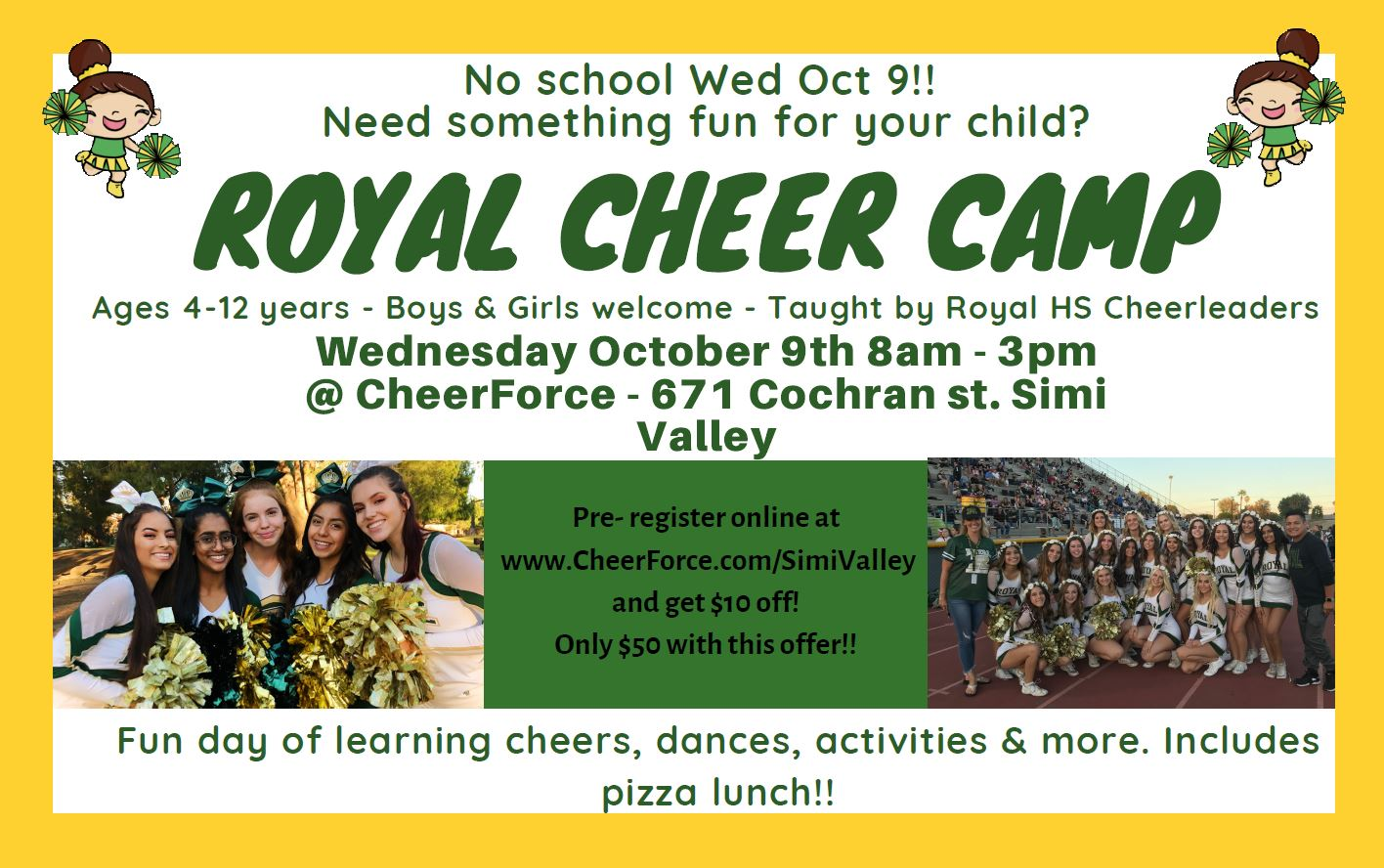 Oct-9 Cheer Camp