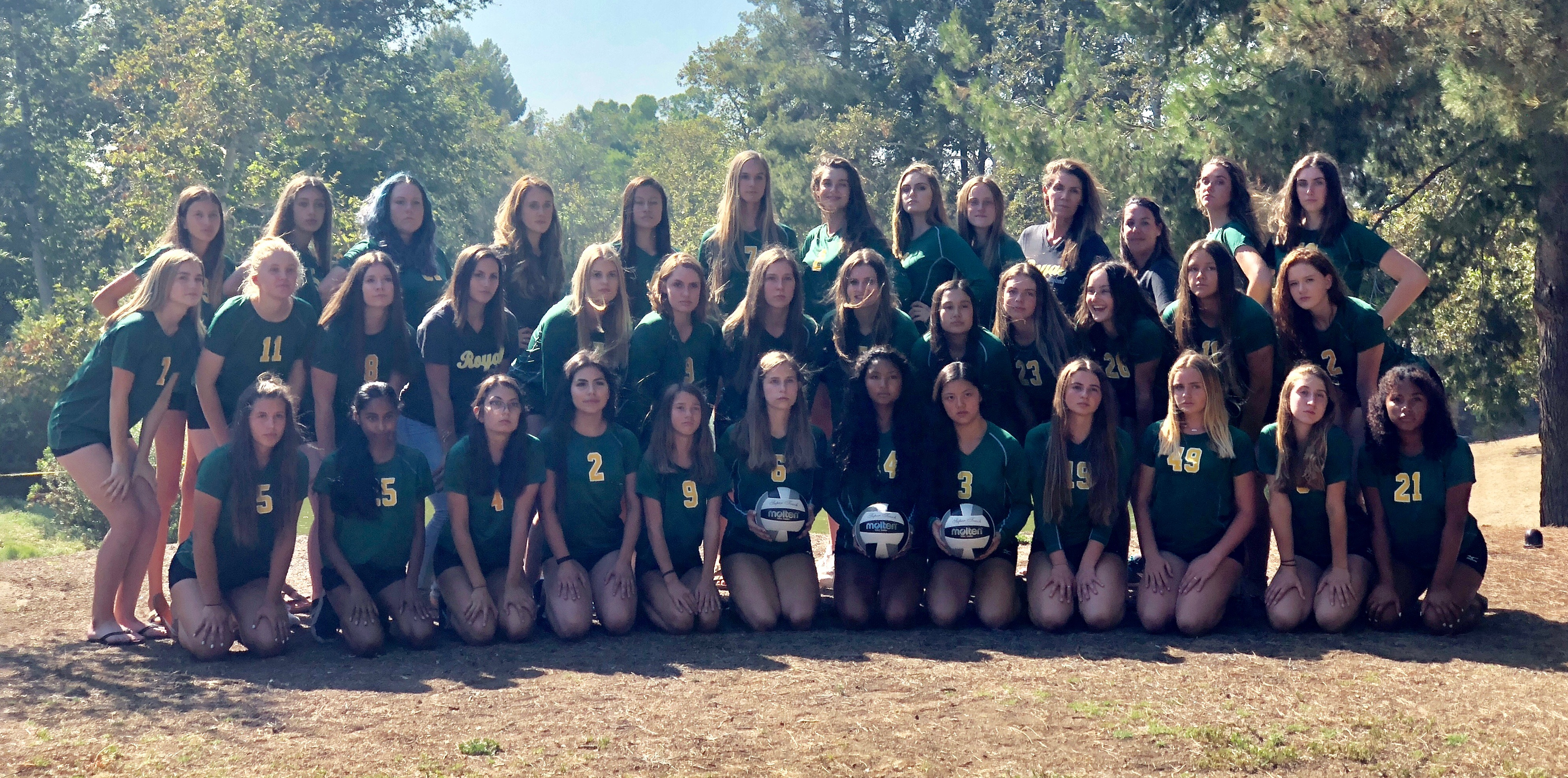 2018 Royal Girls Volleyball