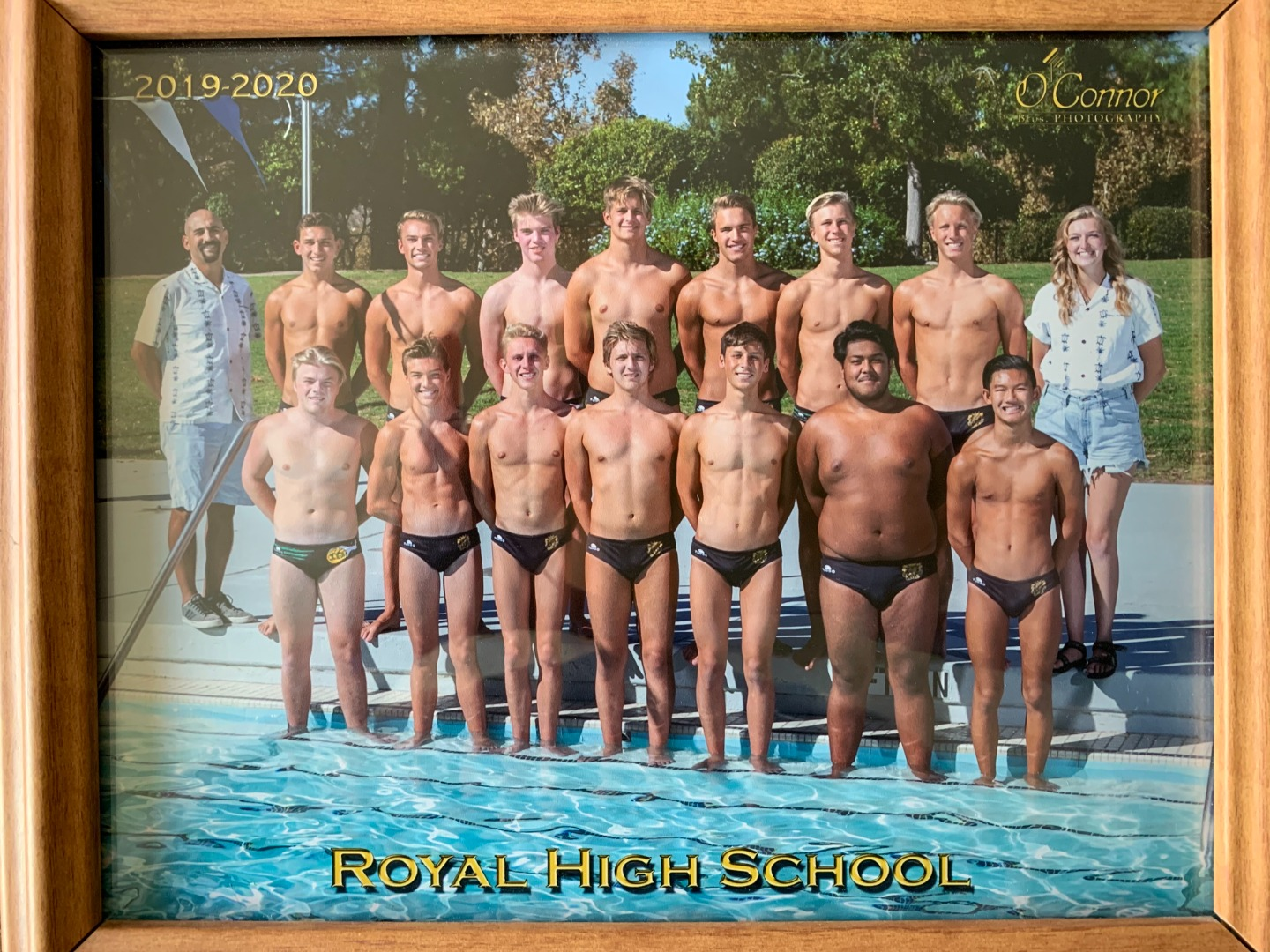 Royal Boys Water Polo