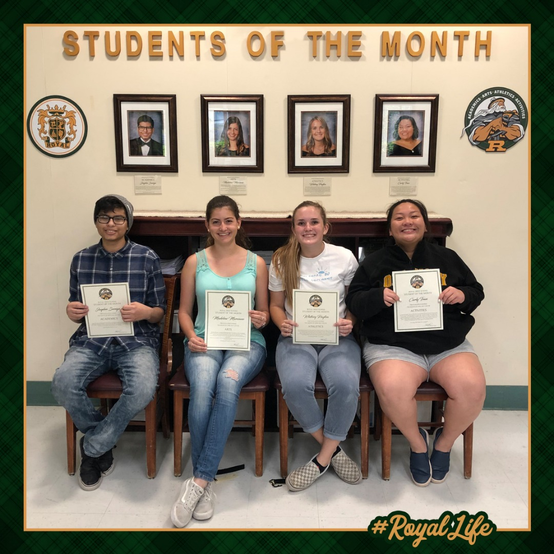 Student of the Month Picture
