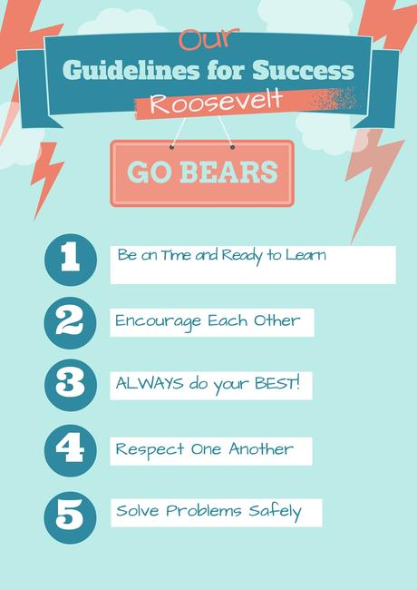 Roosevelt Guidelines for Success