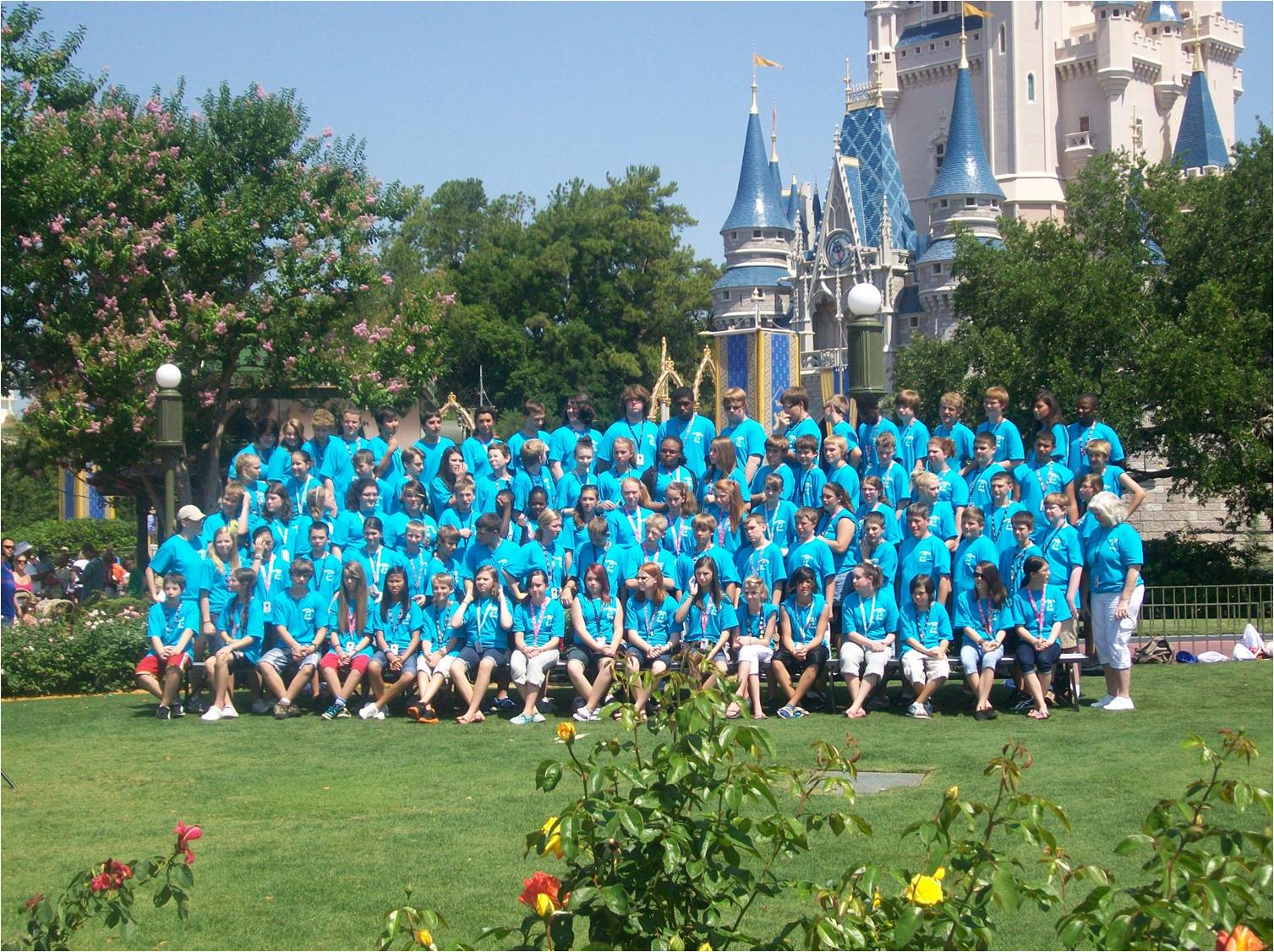 RMS Band at Disney World