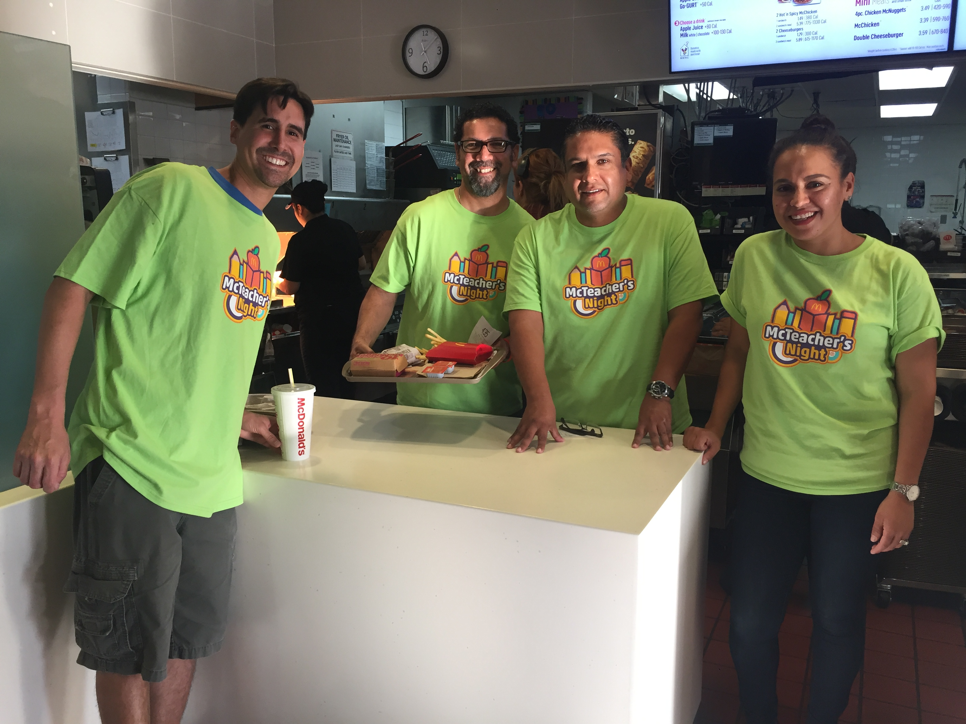 McTeacher Night!- Thank you for your support!