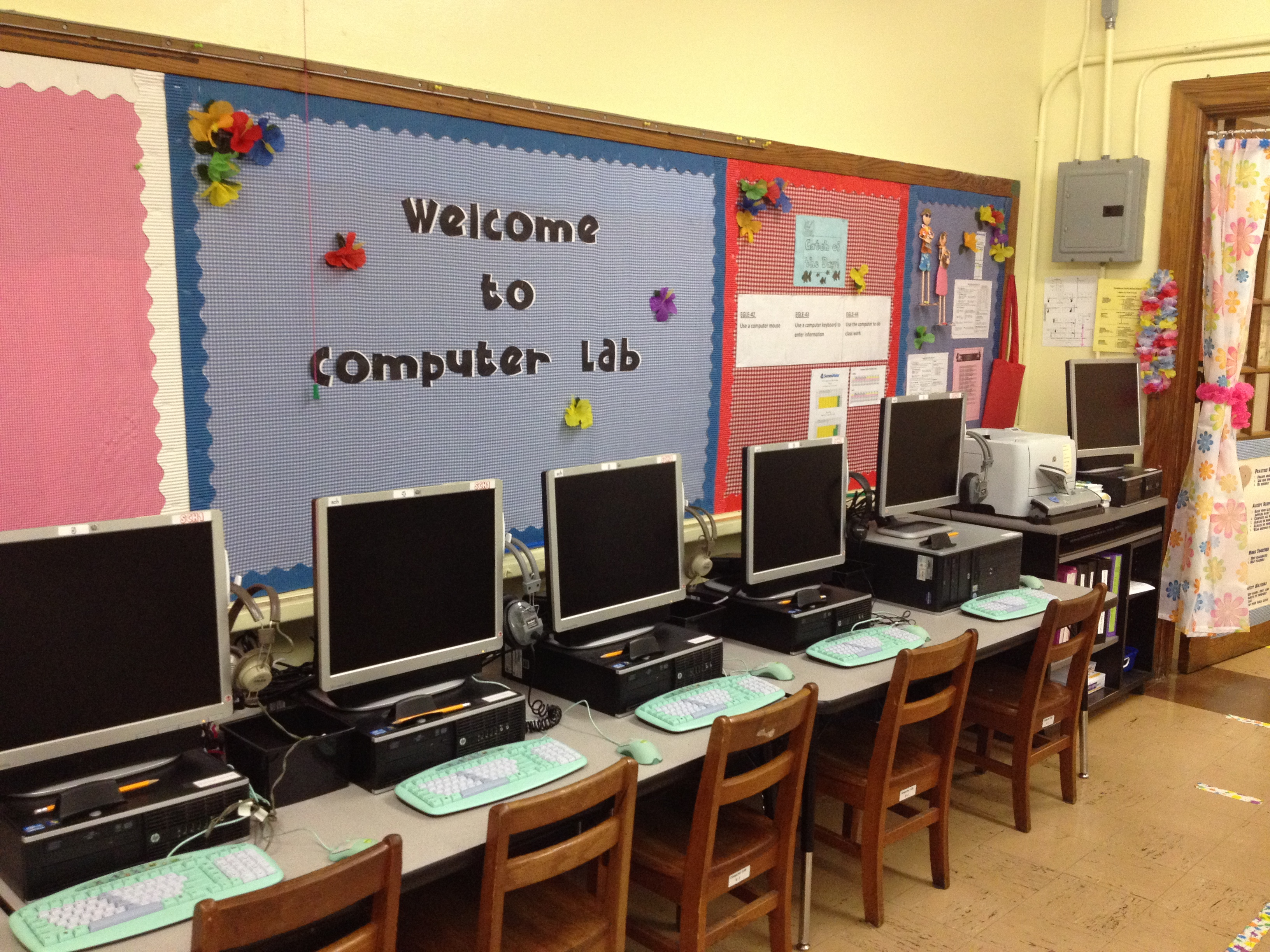 Computer Lab pictures