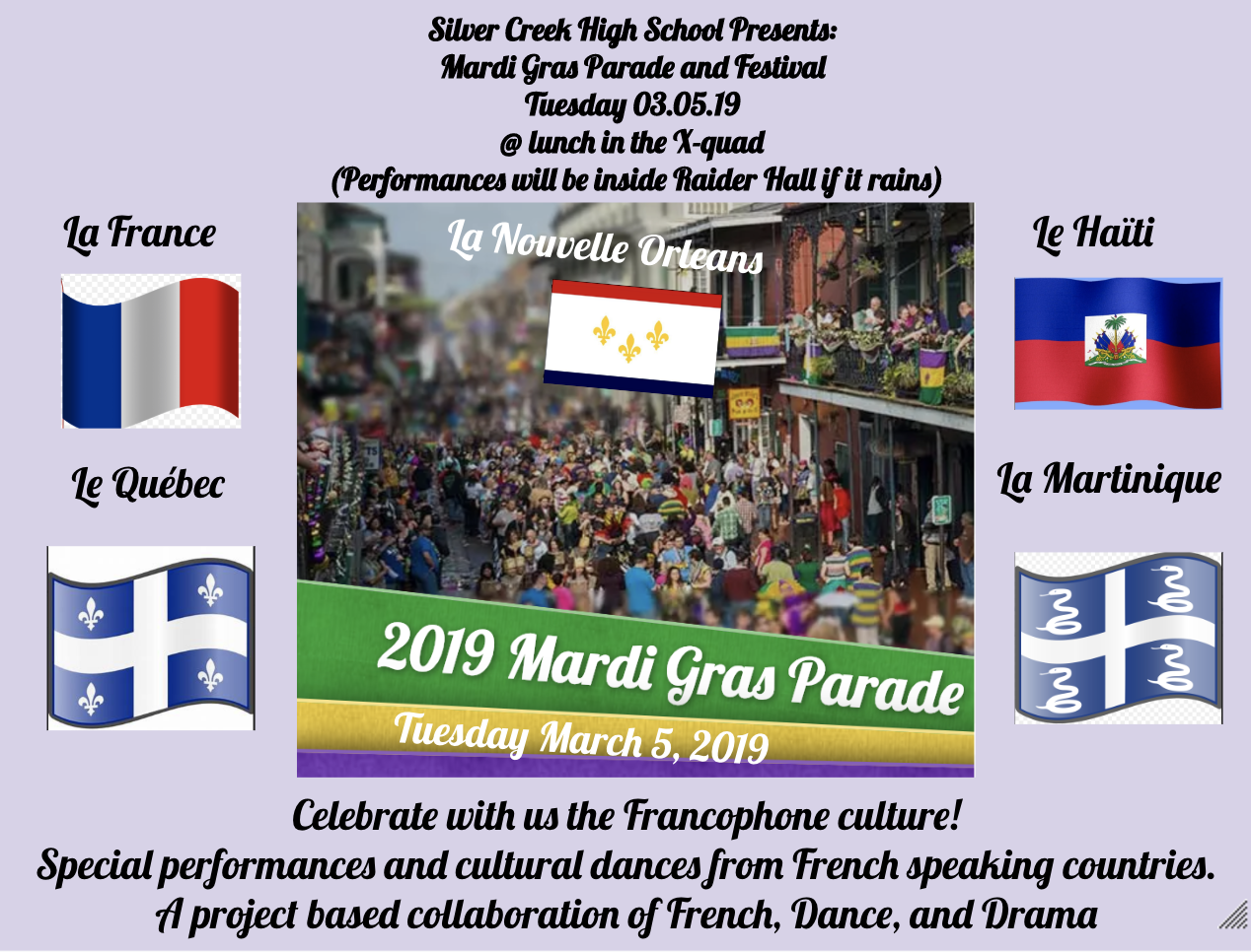 Mardi Gras Parade and Festival 03/05/19