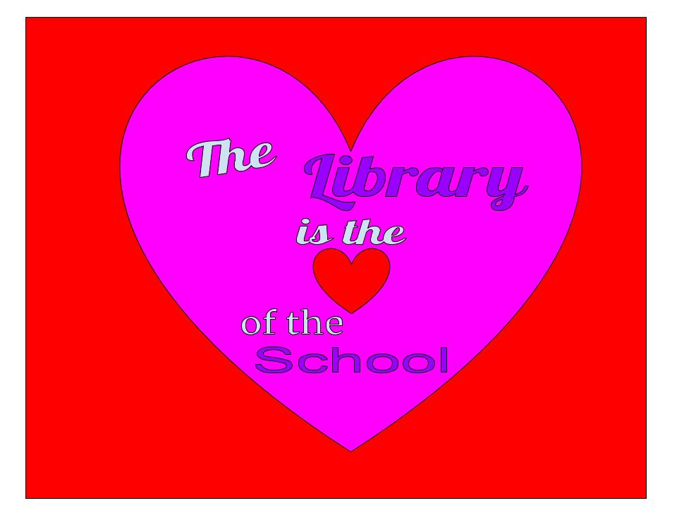 Library Heart of the School
