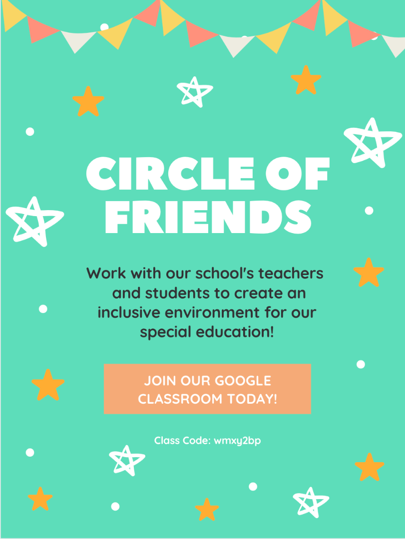 Circle of Friends E-flyer