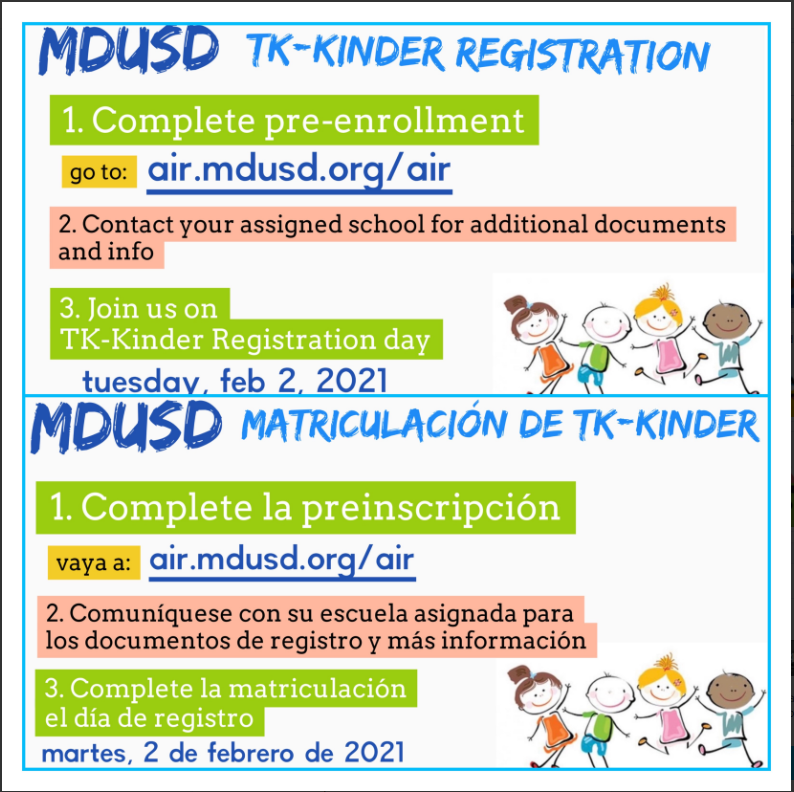 TK-Kinder registration