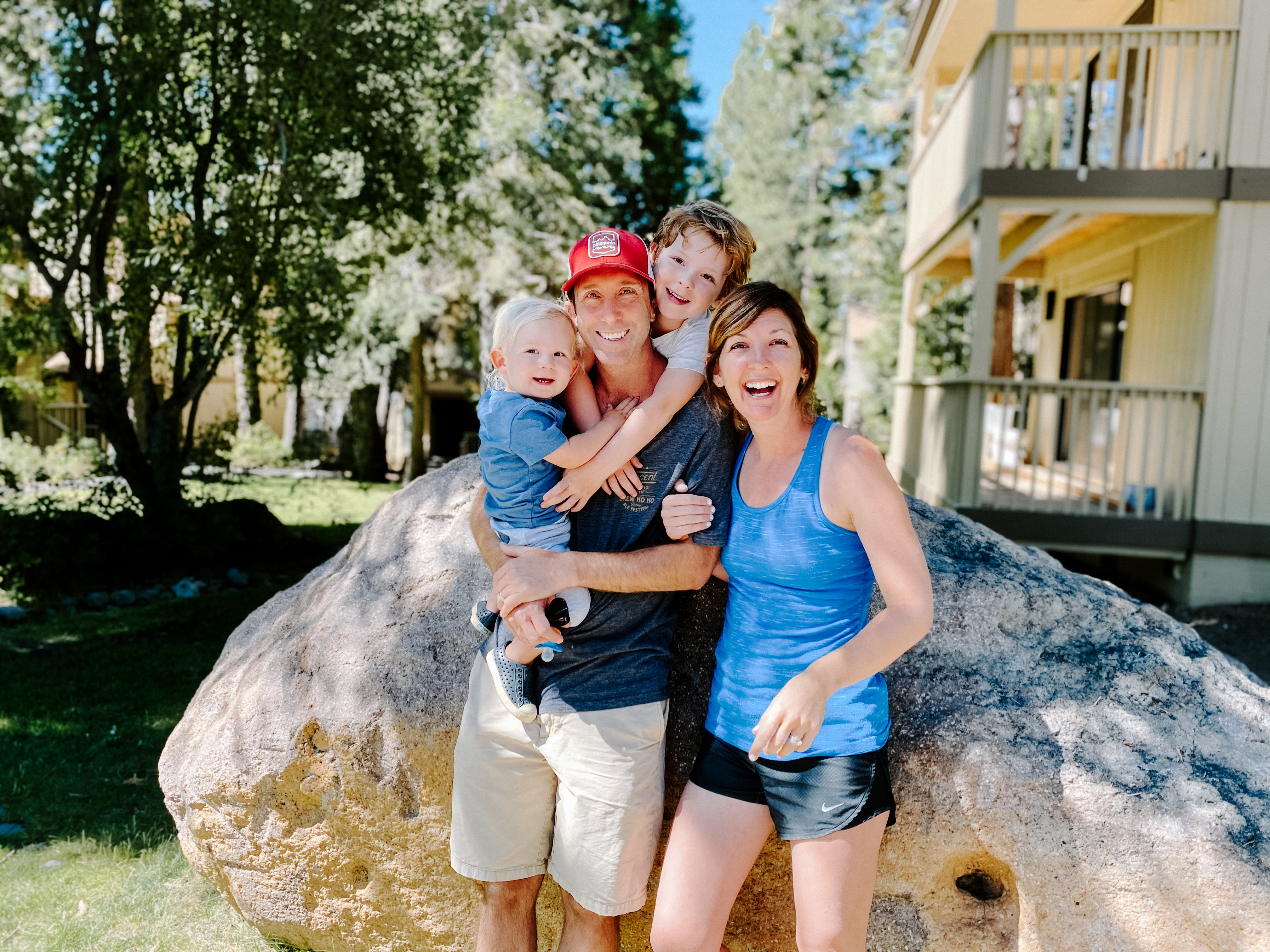 Mrs. Myers and Family