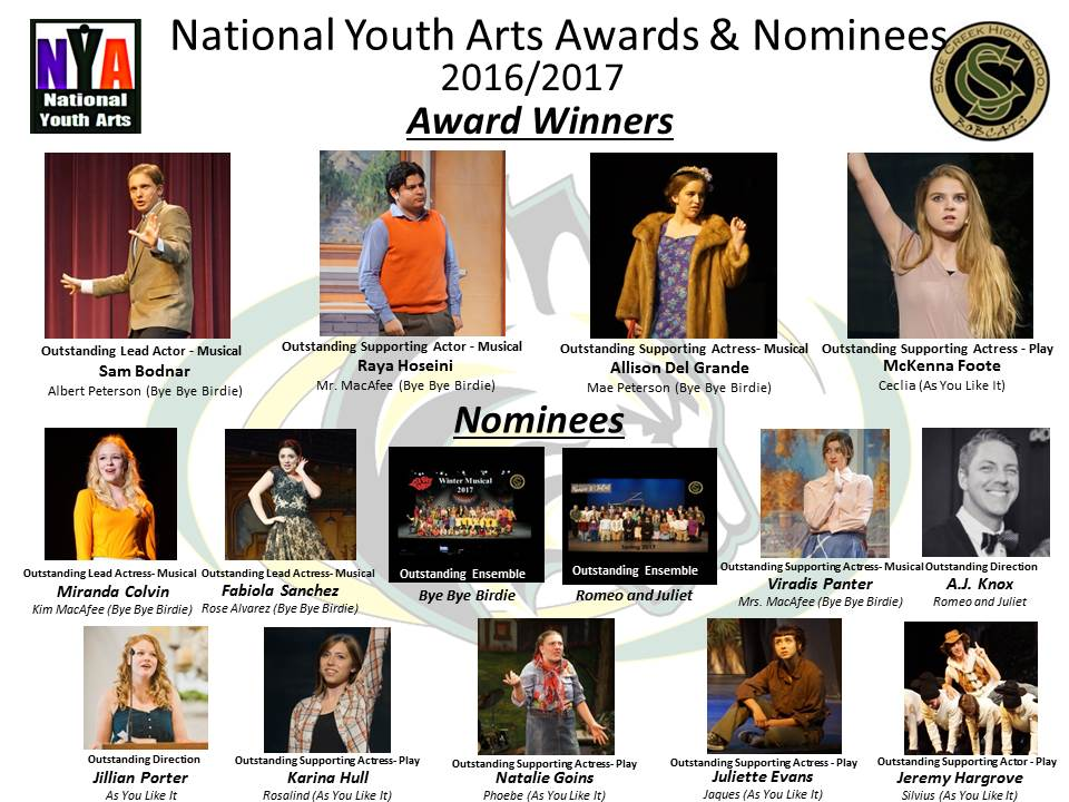 Sage Creek 4 Wins and 11 Noms @ NYA Awards