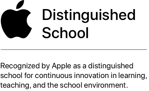 Apple Distinguished Logo