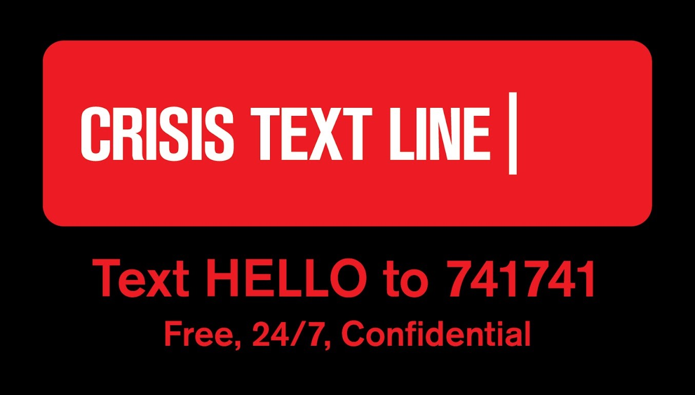 Text HELLO to 741741