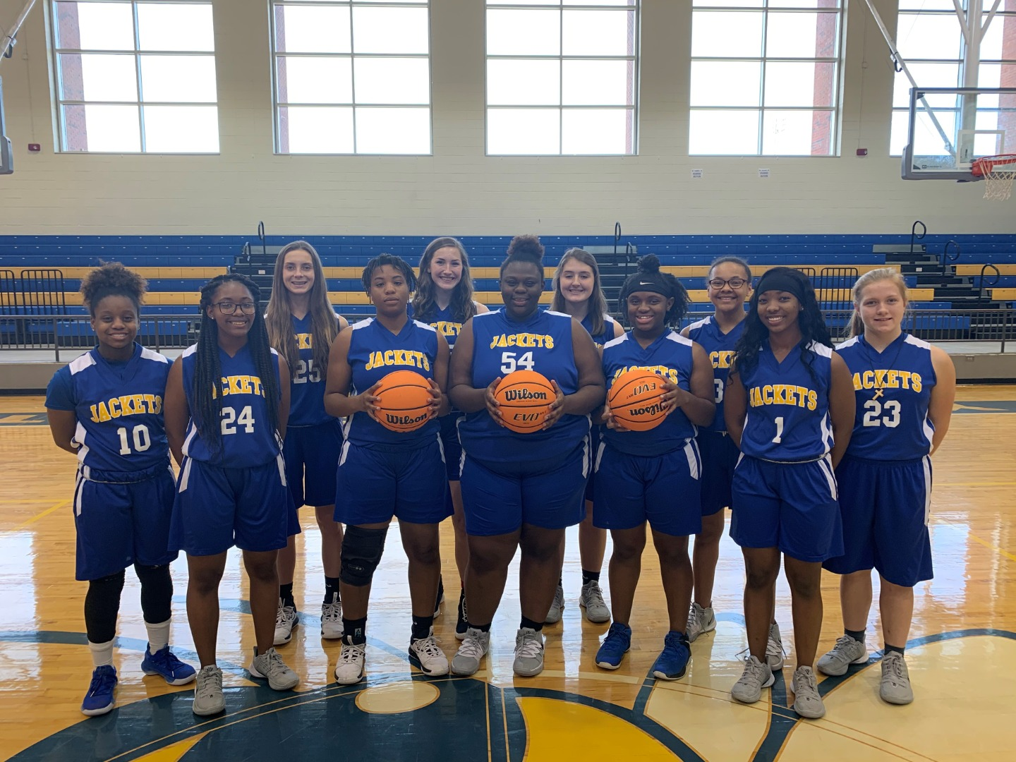 Lady Jackets Basketball 2020