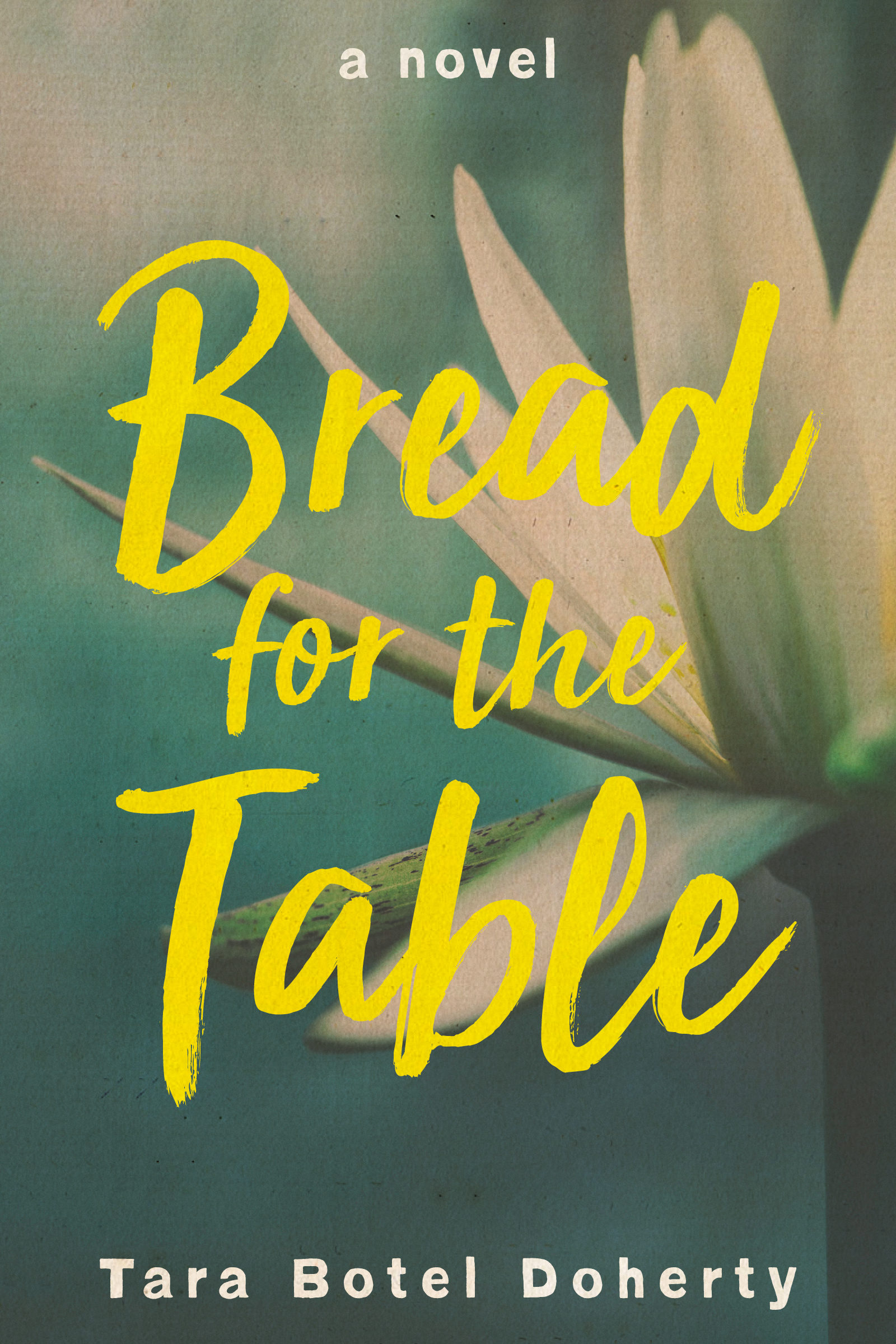 My novel, Bread for the Table