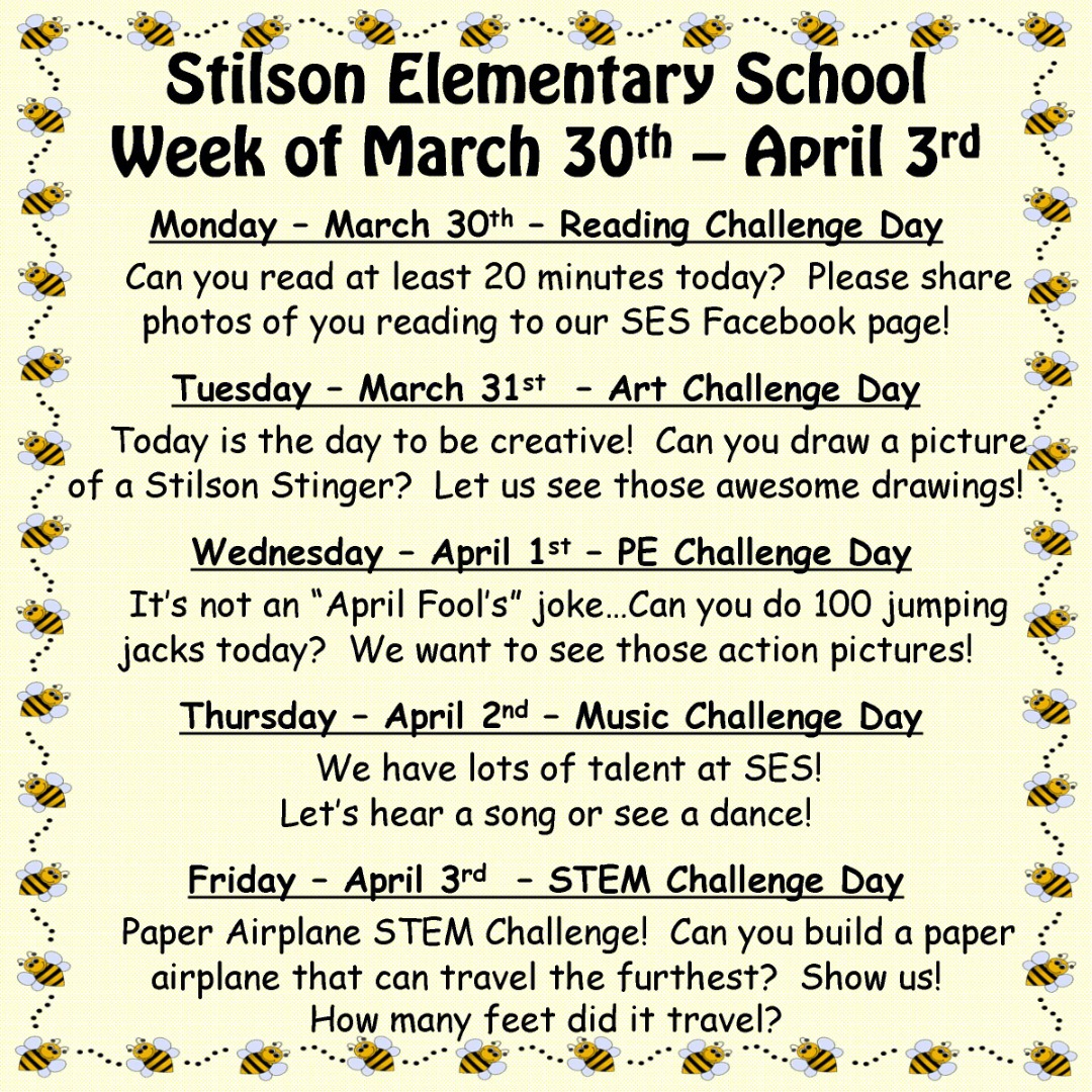 SES Weekly Challenges