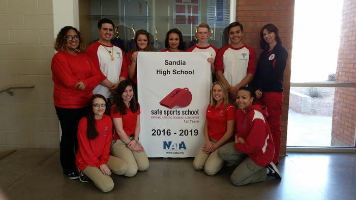 Sandia Athletic Trainers Team